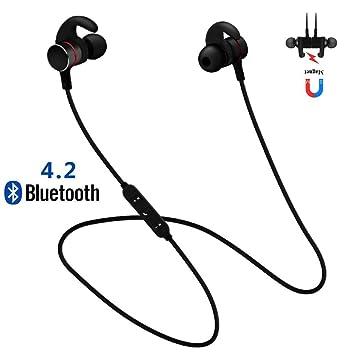 iBaste Universal Auriculares Bluetooth Deportivos GZ-05 Estéreo in-Ear Auriculares Inalámbricos Prueba de