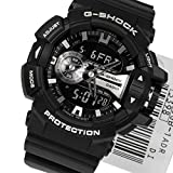 Casio G-Shock Black and Silver-Tone Dial Resin