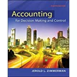 Accounting for Decision Making and Control (Irwin Accounting)