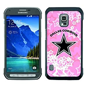 Great Quality Samsung Galaxy S5 Active Case ,Dallas Cowboys Black Samsung Galaxy S5 Active Cover Case Hot Sale Phone Case Unique And Beatiful Designed