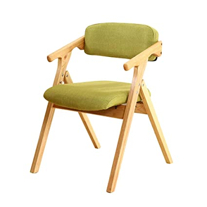 Amazon.com : zhedieyi Stylish Solid Wood Folding Chair with ...