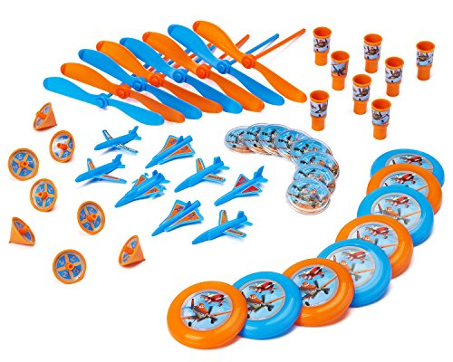 Planes Party Favor Pack, Value Pack, Party (Disney Planes Party Favor Value Pack)