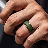 ThunderFit Silicone Wedding Rings for Men