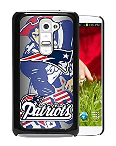 New England Patriots 40 Black High Quality Custom LG G2 Protective Phone Case