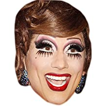 Bianca Del Rio Celebrity Mask, Card Face and Fancy Dress Mask