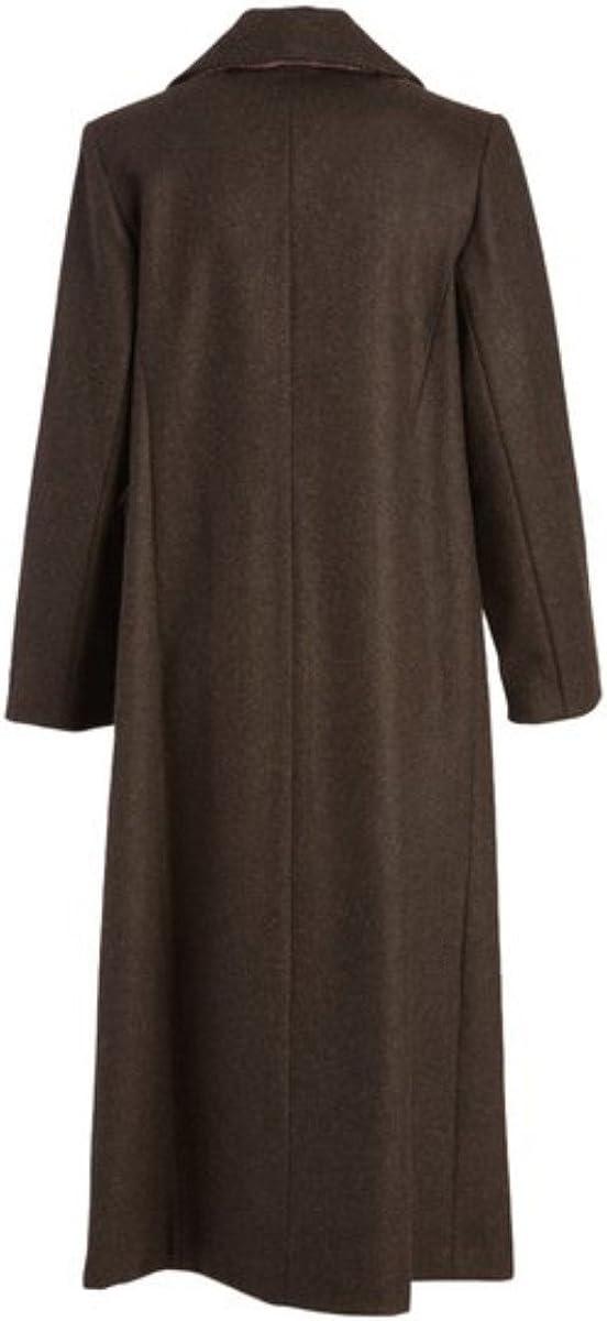 Stephanie Mathews Womens 100/% Wool Long Coat
