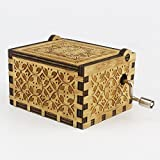 Orgrimmar Hedwig Theme Potter Hand Engraved Wooden Music Box/ Handmade Engraved Wooden Perfect Gift