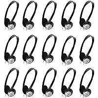 Panasonic On-Ear Stereo Headphones RP-HT21 (15-Pack)