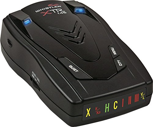 Whistler XTR-145 Laser Radar Detector with Icon Display and Tone Alerts