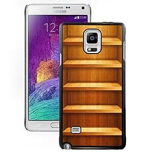 Fashion Custom Designed Cover Case For Samsung Galaxy Note 4 N910A N910T N910P N910V N910R4 Iphone 5 Shelf Black Phone Case