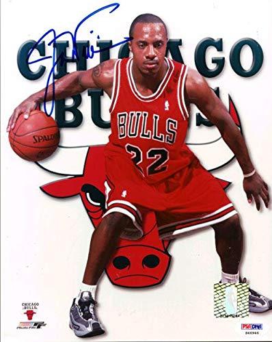 Jay Williams Autographed Photo - 8x10 Chicago Bulls  S46946 - PSA ... b738ba3653c4