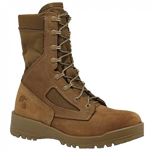 Belleville 590 Men's 8-in Combat USMC Tactical Boot Olive Green 13 W US