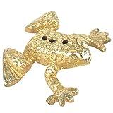 Indian Shelf Handmade Brass Frog Incense Holder/Agarbatti Stand (NSP-232)