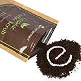 Organic ROBUSTA COFFEE SCRUB w/ Coconut Oil and Vit. E – The Best Exfoliating Natural Body Scrub w/ 2x the Caffeine – By Eve Hansen – Improves Circulation, Reduces Cellulite & Tightens Skin review
