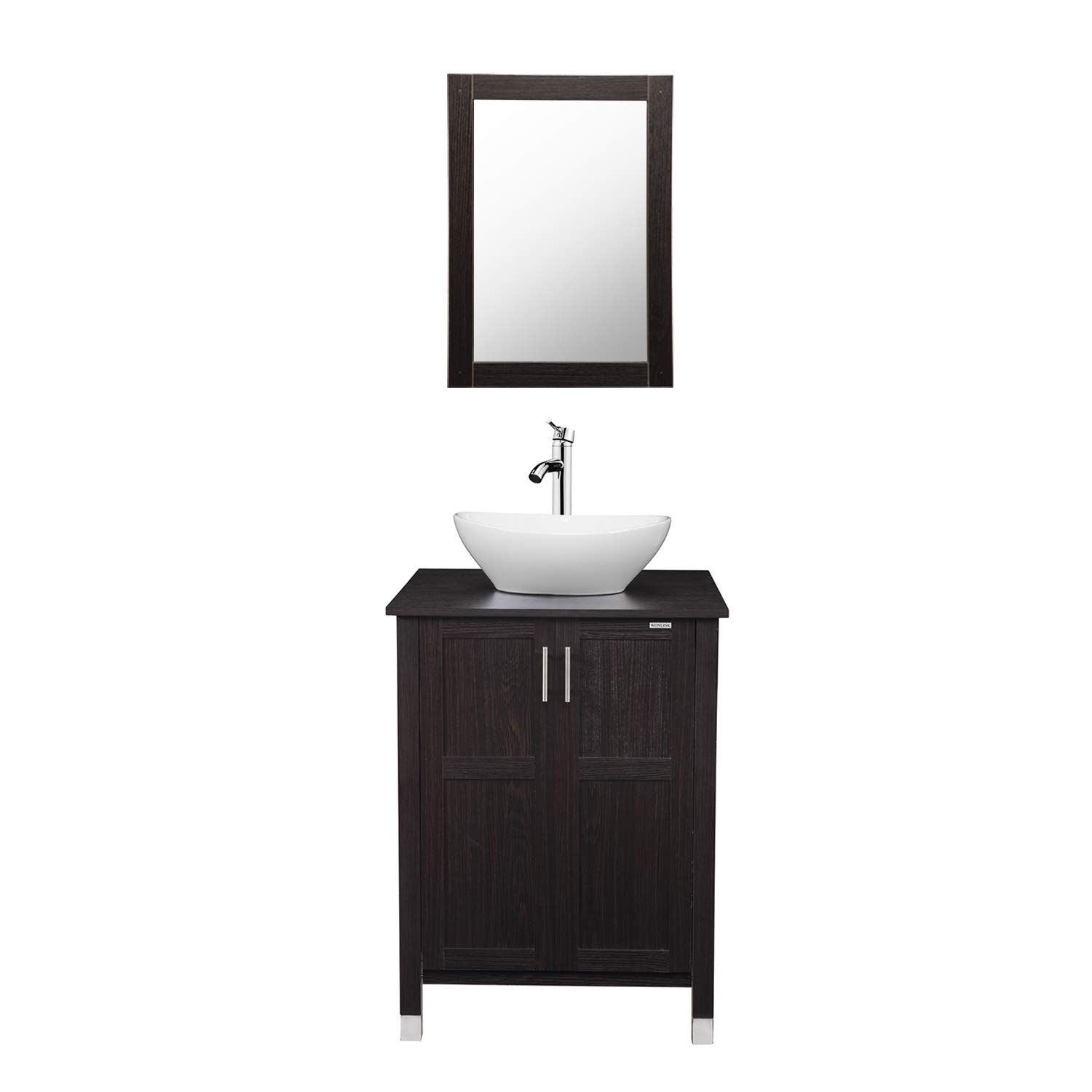 Modern Bathroom Vanity and Sink Combo Stand Cabinet with ...