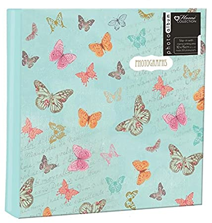 anker butterfly glue bound 2 up slip in photo picture album with
