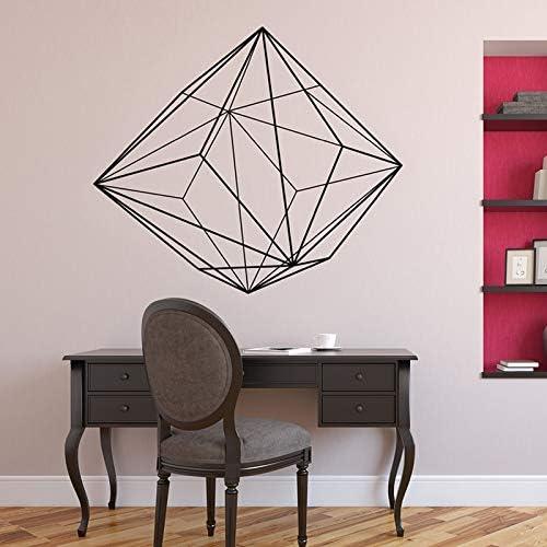 yaonuli Patrón Abstracto geométrico Vinilo Adhesivo de Pared Mural salón Dormitorio decoración Simple decoración del hogar 57x22 cm: Amazon.es: Hogar