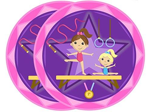 Gymnastics Star Birthday Party Large 9