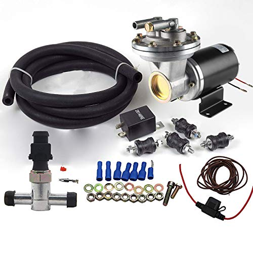 (Dracarys 28146 Electric Vacuum Pump Kit For Brake Booster Vacuum Pump Electric Vacuum Pump For Brakes)