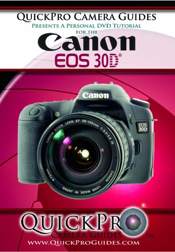 Canon 30D Instructional DVD by QuickPro Camera Guides (Canon Media)