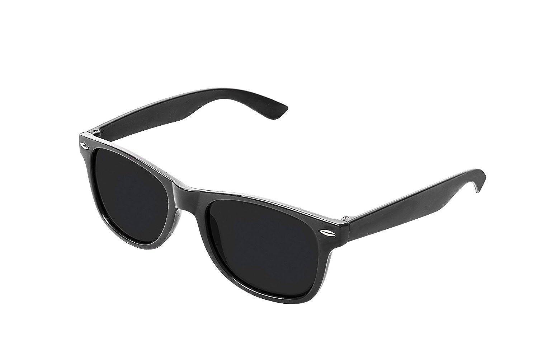 RetroUV Retro Vintage Colour Unisex Punk Geek Style Zero Number Clear Lens Glasses Eyewear Boolevard Cosmetics Ltd.