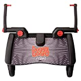 Lascal BuggyBoard Maxi, Black, Universal Ride-On Stroller Board, Fits More Strollers Than Any Other Board Using The Patented Universal Adapter, Quick Connect and Disconnect, Holds Up To 66 lbs.