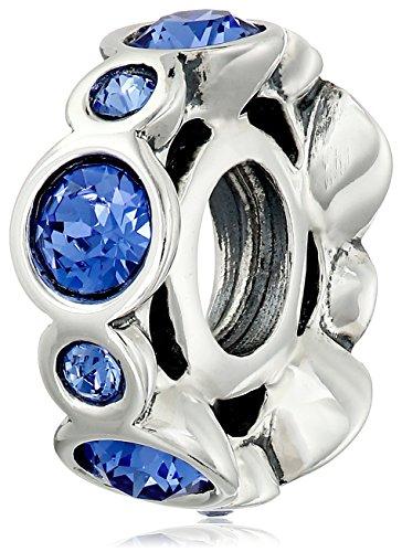 "Chamilia Birthstone Jewels"" Swarovski Crystal September B..."