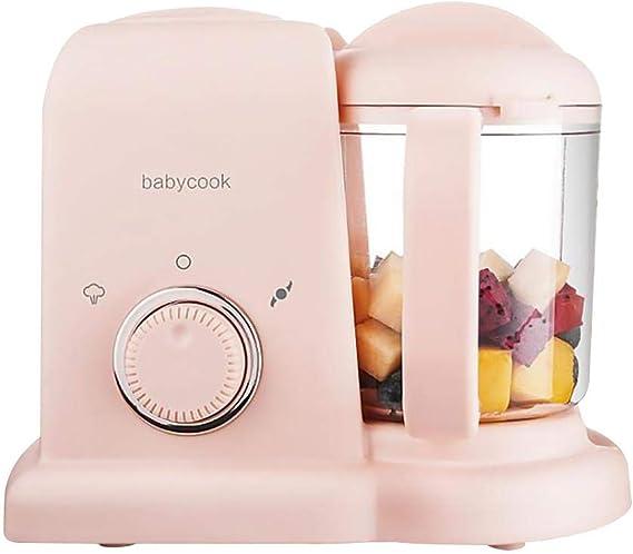 Wood.L Robot De Cocina Al Vapor Procesador De Alimentos para Bebés ...