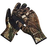 Eamber Camouflage Hunting Gloves Full Finger/Fingerless...