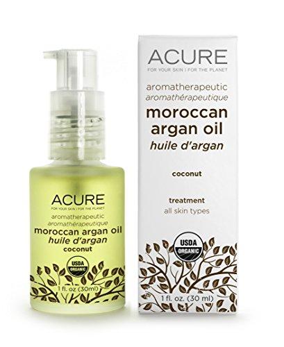 Price comparison product image Acure Organics Coconut Aromatherapeutic Moroccan Argan Oil,  1 Fluid Ounce -- 1 each.