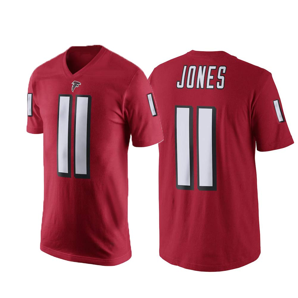 Amazon.com   Outerstuff Julio Jones Atlanta Falcons  11 NFL Youth  Performance Player Jersey T-Shirt Red (Youth 8-20)   Sports   Outdoors 30e841a9b4ac