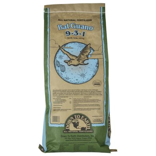 Down To Earth High Nitrogen Bat Guano - 10 lb