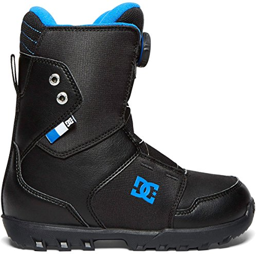 DC Youth Scout Boa Snowboard Boots, Black, (Scout Boa Snowboard Boots)