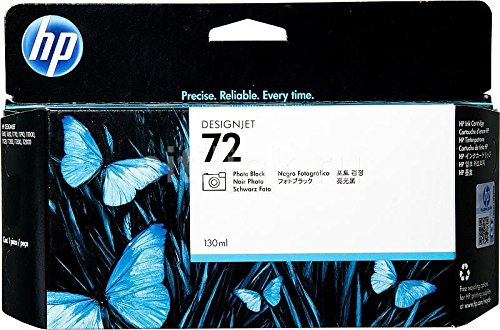 - HP C9370A 72, (C9370A) Photo Black Original Ink Cartridge