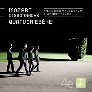 Mozart: Dissonances / String Quartets KV 421 & 465 / Divertimento KV 138