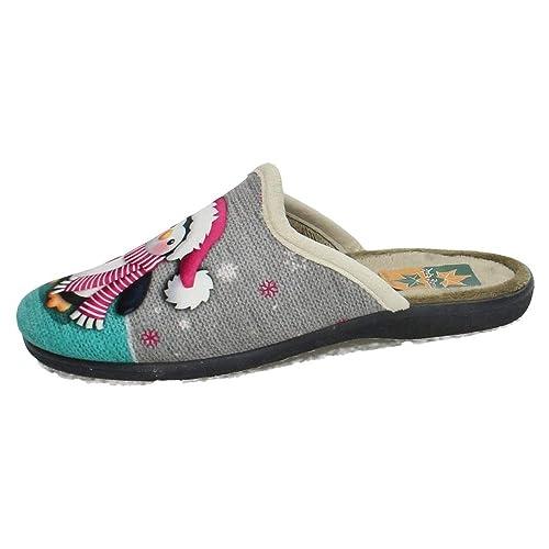 RUIZ BERNAL 137 Chinelas PINGUINO Mujer Zapatillas CASA Verde 35