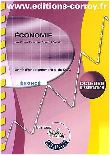 En ligne téléchargement gratuit Economie DCG 5 : Enoncé pdf epub