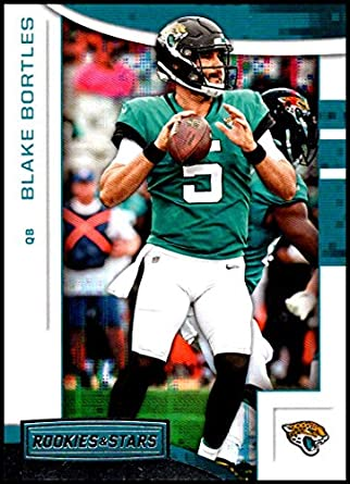 2018 Rookies and Stars Football  82 Blake Bortles Jacksonville Jaguars  Official NFL Trading Card Produced dd9201a17