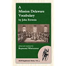 A Mission Delaware Vocabulary (Alr Supplement)
