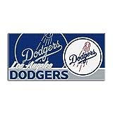 "Los Angeles Dodgers MLB Fiber Reactive Beach Towel Oversized 34"" X 70"""