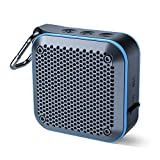 Portable Waterproof Bluetooth Speaker with FM Radio, IPX7 Waterproof Speaker Bluetooth Wireless Small Portable Speaker TWS Stereo 10H Playtime for Shower Bath Pool Boat Beach Home Party Travel 2019