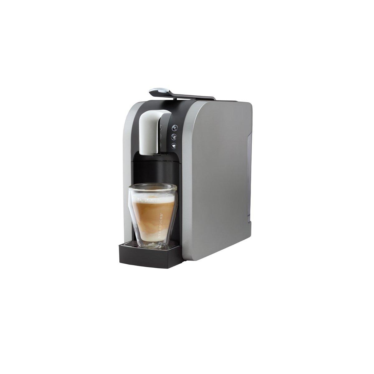 Electronic Starbucks Home Coffee Machine amazon com starbucks verismo 580 brewer silver 011023256 kitchen dining