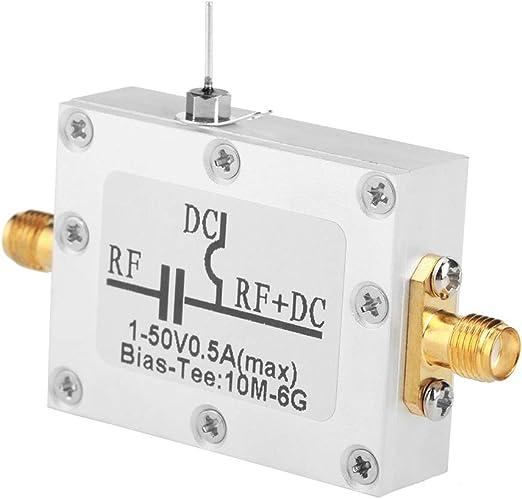 Radio Frequency RF Blocker Bias Tee 10MHz-6GHz Broadband Microwave Coaxial Bias