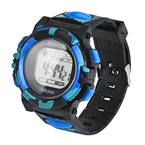 Best Wristwatch Watch For Girls Boys - Gbell LED Kids Watches - Boys