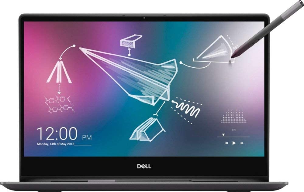 "Dell Inspiron 2-in-1 13.3"" 4K Ultra HD Touch-Screen Laptop, Intel Core i7, 16GB Memory, 512GB SSD Optane, Black (I7390-7100BLK-PUS)"