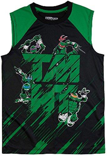 Ninja Turtles Boys TMNT Teenage Mutant Muscle Tank (Small 6/7) ()
