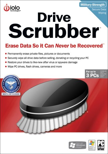 DriveScrubber 3-User  [Download] by IOLO Technologies