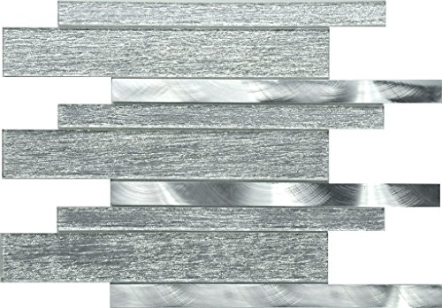 Decorative Glass Mosaic Tile (Sample Sheet 4x5) Wall / Backsplash: Yes Sample charges, including shipping, will be refunded towards your final order of 18 Sq Ft or more making them completely free! (Cheap Ideas Flooring Patio Diy)