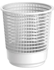 Cosmoplast Large Waste Paper Basket - White