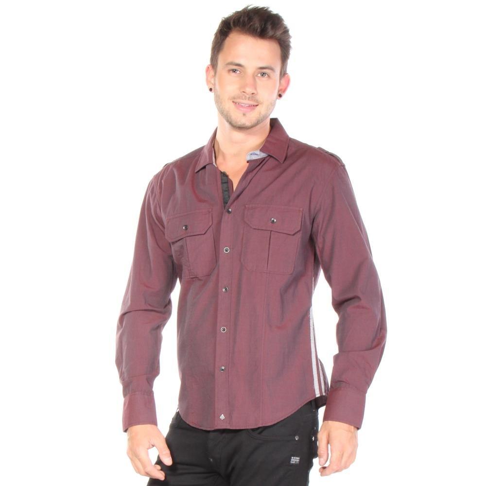 KSINO Mens Button Up Long Sleeve Button Down Shirt Shirts 100/% Cotton